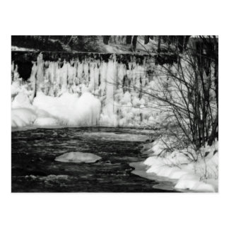 Ice on the River Postcard