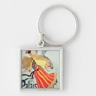 Ice Palace', Champs Elysees, Paris, 1893 Key Ring