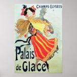Ice Palace', Champs Elysees, Paris, 1893 Print
