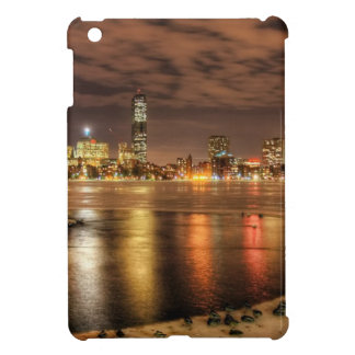 Ice partially melted on Charles River in Boston iPad Mini Cases