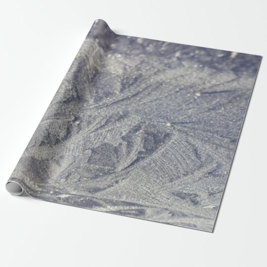 Ice Patterns Wrapping Paper