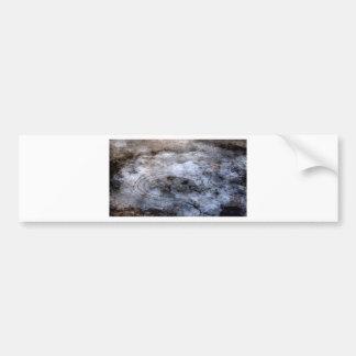 Ice picture bumper sticker
