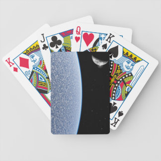 Ice Planet Bicycle Playing Cards