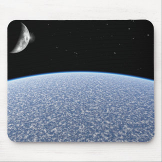 Ice Planet Mouse Mat