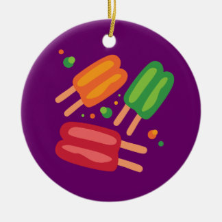 Ice Pops Christmas Ornament