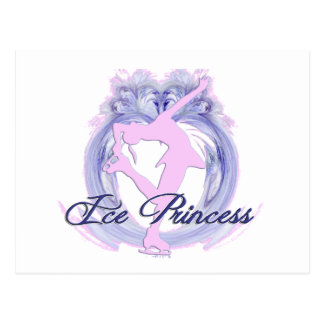 Ice Princess Pink/Purple Postcard