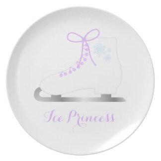 Ice Princess Plate