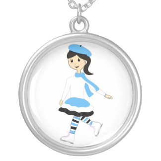 Ice Princess Silver Plated Necklace