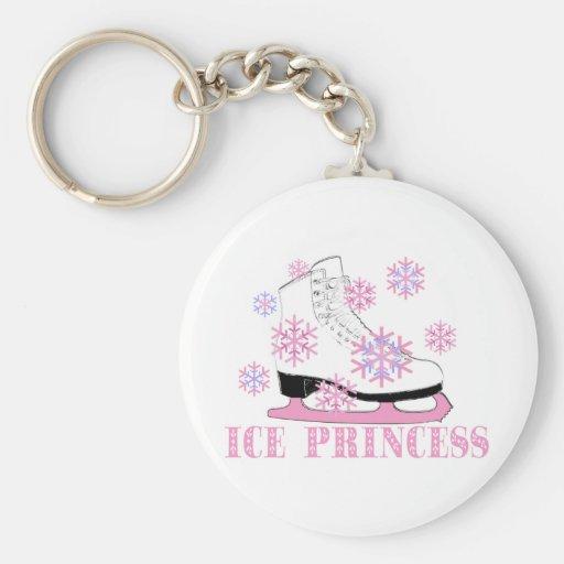 Ice Princess Skate Keychains