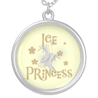 Ice Princess T-shirts and Gifts Round Pendant Necklace