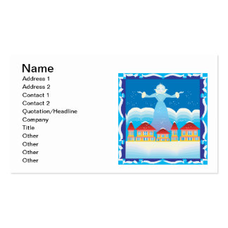 Ice Queen Pack Of Standard Business Cards
