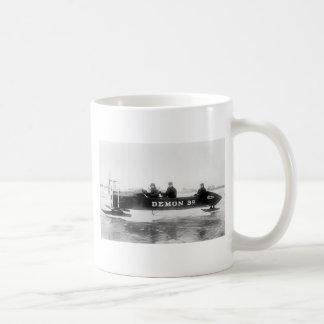 Ice Racing, Duluth, 1910s Basic White Mug