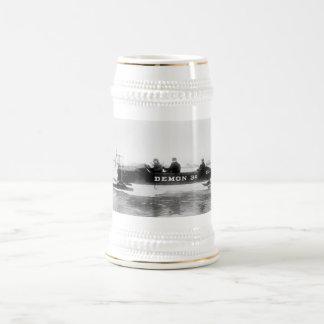 Ice Racing, Duluth, 1910s Beer Steins