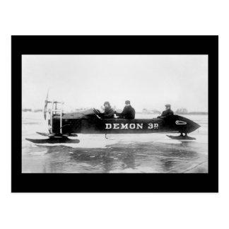 Ice Racing, Duluth, 1910s Postcard