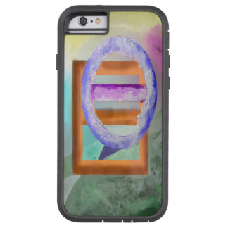 Ice Ring Abstract Design Tough Xtreme iPhone 6 Case
