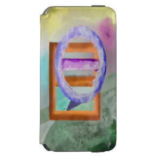Ice Ring Abstract Design Incipio Watson™ iPhone 6 Wallet Case
