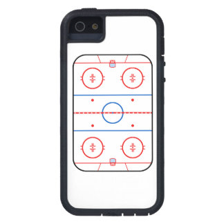 Ice Rink Diagram Hockey Game Companion Case For The iPhone 5