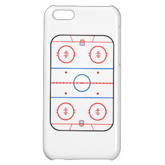 Ice Rink Diagram Hockey Game Companion Cover For iPhone 5C