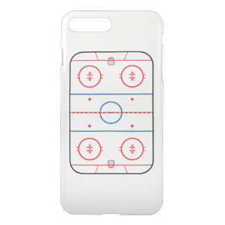 Ice Rink Diagram Hockey Game Companion iPhone 7 Plus Case