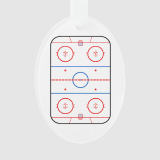 Ice Rink Diagram Hockey Game Design