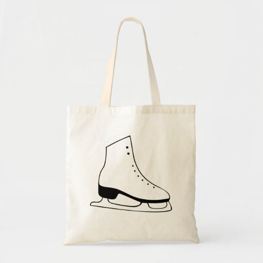 Ice Skate Canvas Bag