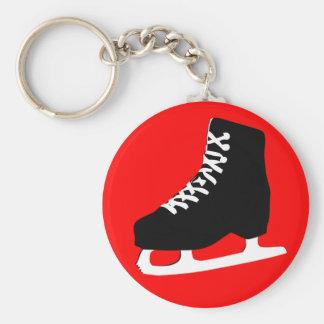 ice skate key ring