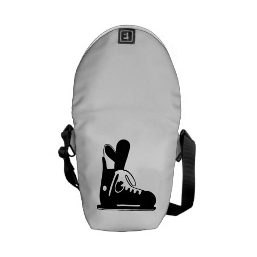 Ice Skate Courier Bag