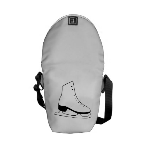 Ice Skate Messenger Bag