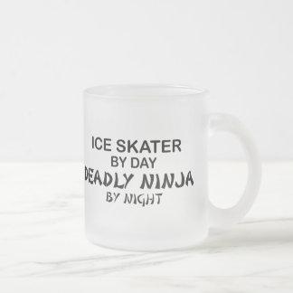 Ice Skater Deadly Ninja by Night Coffee Mug