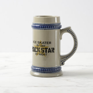 Ice Skater Rock Star by Night Beer Steins