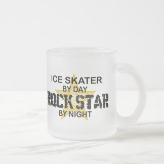 Ice Skater Rock Star by Night Coffee Mugs