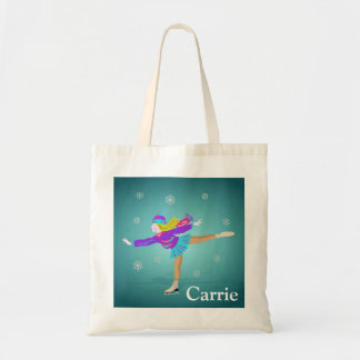 Ice Skater Tote Bag