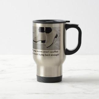 Ice skater travel mug- great gift for ice skaters stainless steel travel mug