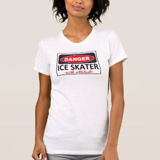 Ice Skater with Attitude Shirts