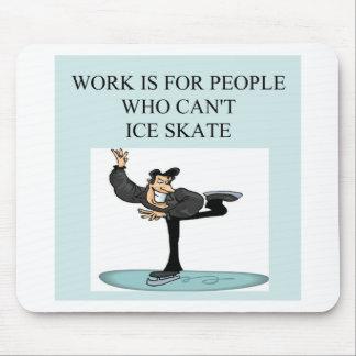 ice skater's delight mouse mat