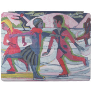 Ice Skaters iPad Cover