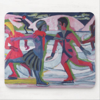 Ice Skaters Mouse Mat