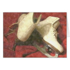 ICE SKATES AT REST NOTE CARD