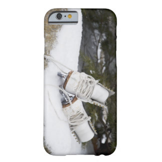 Ice skates, figure skates In snow Barely There iPhone 6 Case