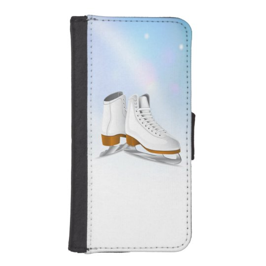 Ice Skates iPhone Wallet Case