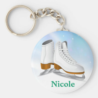 Ice Skates Key Chain