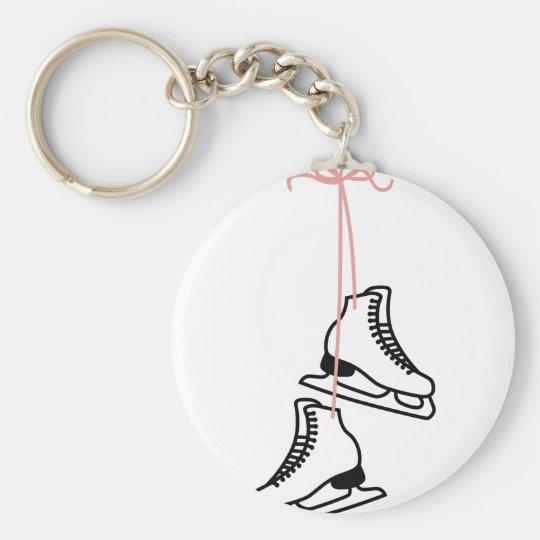 Ice Skates Key Ring