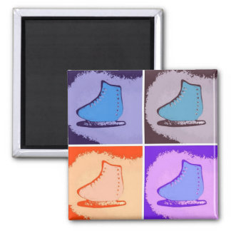 Ice Skates Refrigerator Magnets
