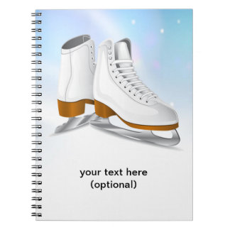 Ice Skates Notebook