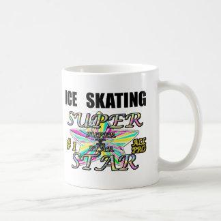 ice skating basic white mug