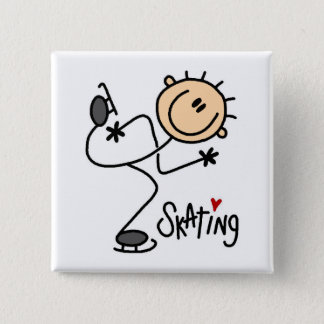 Ice Skating Button Button
