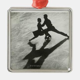 Ice Skating Couple Christmas Ornament