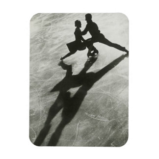 Ice Skating Couple Vinyl Magnets