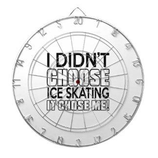 ICE SKATING DESIGNS DART BOARD
