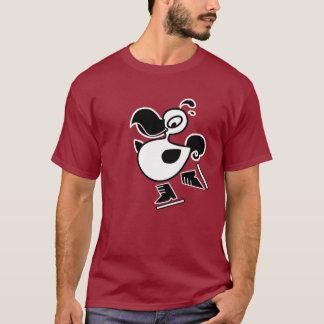Ice Skating Dodo T-Shirt